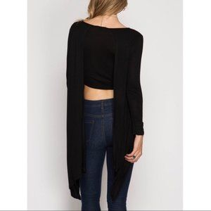 NWT Amor Adore Gorgeous Asymmetrical Top